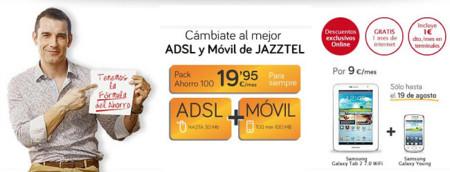 Jazztel lanza una nueva promoción con hasta seis meses de cuota de Internet gratis