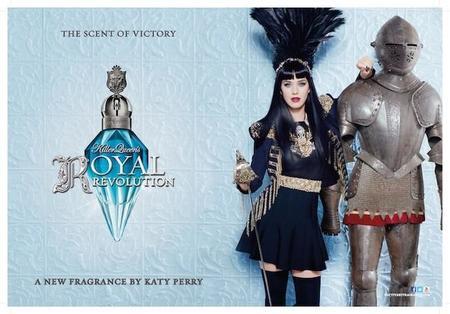 Royal Revolution. Katy Perry vuelve a las andadas de la perfumería