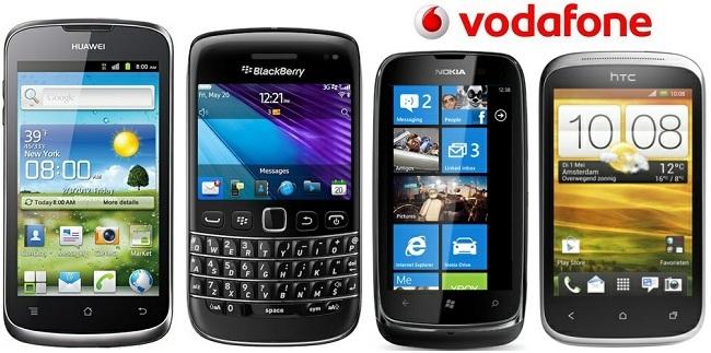 Precios Móviles Vodafone verano 2012