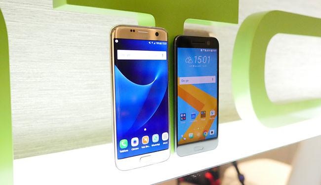 HTC 10 y S7
