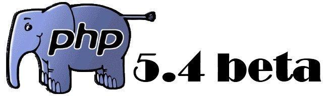 PHP 5.4 Beta1