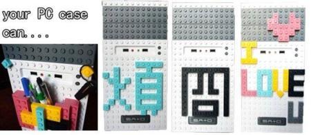 HELLO-Q, torre de ordenador de sobremesa con inspiración Lego