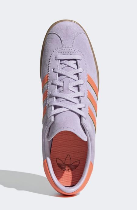 Zapatillas lila y naranja Stadt de adidas Originals
