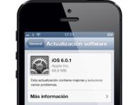 Apple lanza iOS 6.0.1