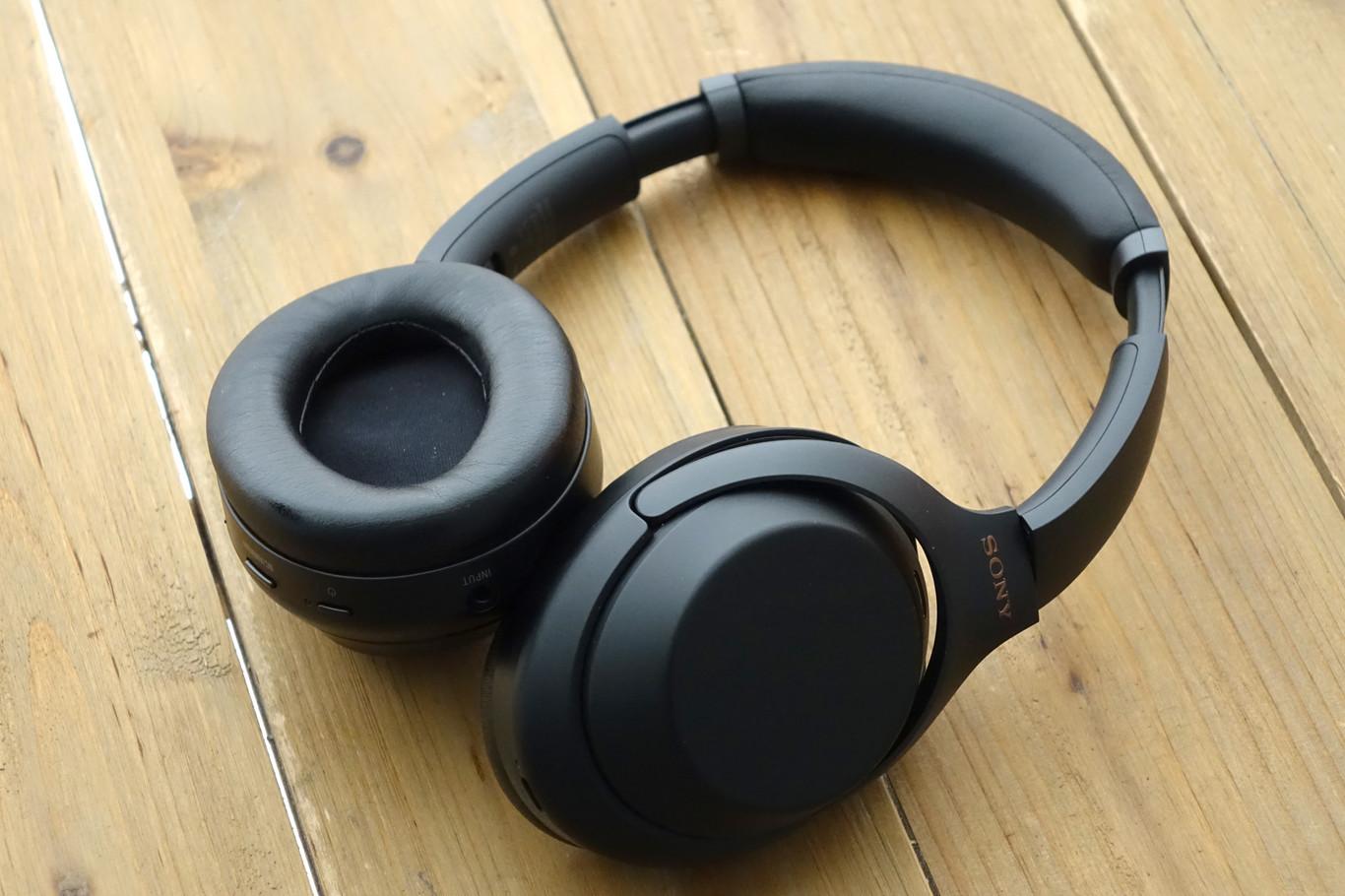 Sony WH 1000XM3B Auriculares de Diadema inalámbricos (Bluetooth, Hi Res Audio, Noise Cancelling, Sense Engine, Asistente de Voz, 30h de autonomía de