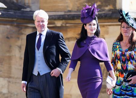Los Spencer llegan a la boda del Príncipe Harry y Meghan Markle derrochando estilo