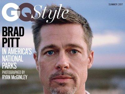 Viendo las últimas portadas de Brad Pitt no sé si darle un abrazo o un bocata de chorizo