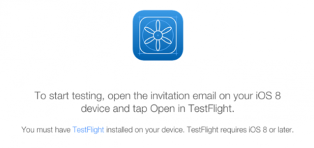 testflight web apple