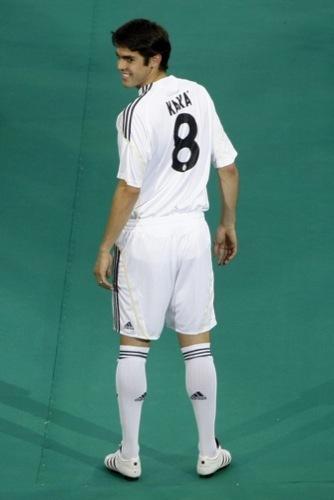 Foto de Kaká en la presentación con el Real Madrid (7/9)