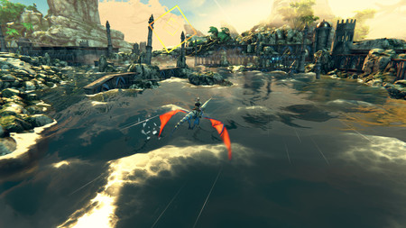 Los usuarios de PC también podrán echarle el guante a Panzer Dragoon: Remake en Steam