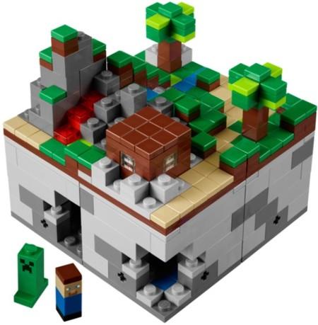LEGO Minecraft Micro World ya está en fase de producción y saldrá a la venta en verano