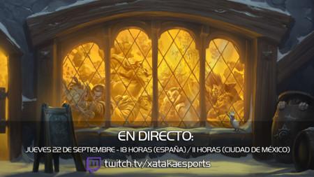 Jugamos en directo a Hearthstone a las 18:00 horas (las 11:00 en Ciudad de México)  [Finalizado]