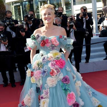 El noveno día del Festival de Cannes 2021 nos ha dejado lookazos y a una Sharon Stone vestida de Cenicienta capitaneando la alfombra roja