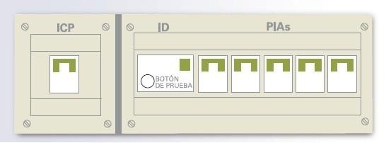 Conociendo el cuadro el ctrico de casa - Interruptor general automatico ...