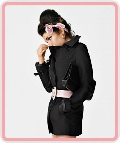 Amy Winehouse para Fred Perry: trench