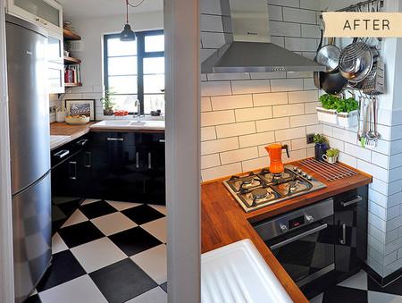 Antes y después cocina 60 - 2
