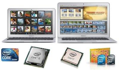 Intel está preparando nuevos chips que podrían usarse en una renovación del MacBook Air