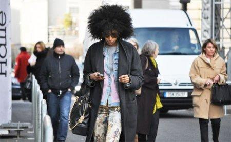 Julia Sarr-Jamois, la street styler de peinado más original