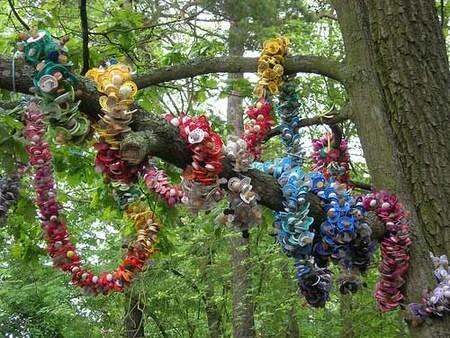 El árbol de los chupetes en Estocolmo