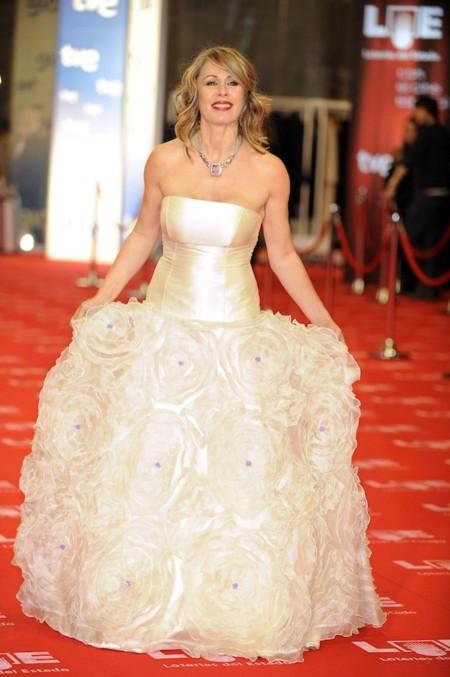 Miriam Diaz Aroca Gala Goya 2011