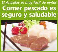 Comer pescado es seguro y saludable, el anisakis es muy fácil de evitar