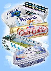 ¿Qué prefieres, mantequilla o margarina?