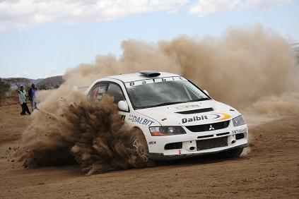 Carl Tundo gana el Rally Safari