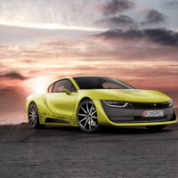 Rinspeed Σtos, un concepto lleno de tecnología basado en el BMW i8
