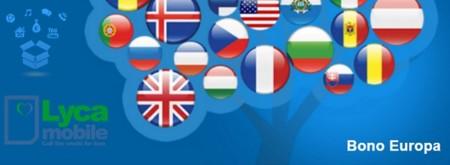Habla desde España con Europa sin límites con el nuevo bono Europa de Lycamobile