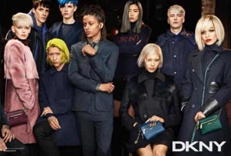 DKNY campaña Otoño-Invierno 2014/2015 Rita Ora