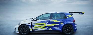 El Volkswagen e-Performance Golf R es un adelanto de lo que será la división deportiva en el futuro