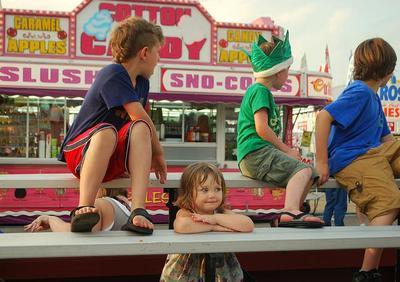 Niños que suben o bajan de peso en verano