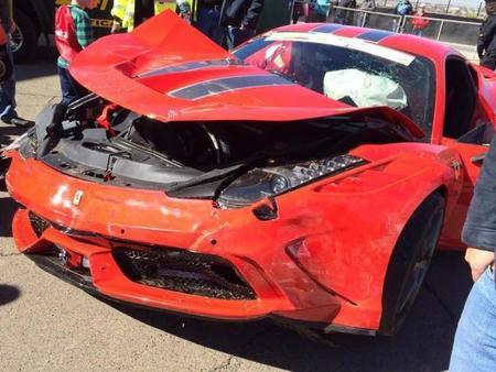 Dolorpasión™: Choca Ferrari 458 Speciale en Sudáfrica