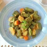Receta de judías verdes con patata y pimentón, el mejor plato para solucionar tus cenas y saciarte de manera saludable