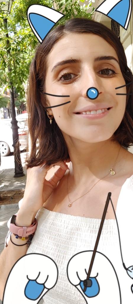 Selfie calcomanía