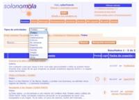 Solonomola, gestión de eventos tanto personales como para grupos de usuarios