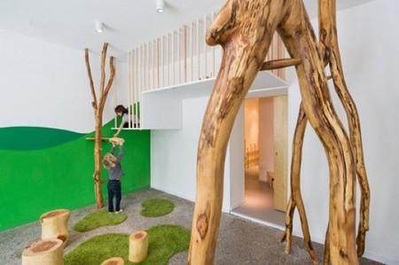 Baukind, un espacio para niños con decoración inspirada en la naturaleza