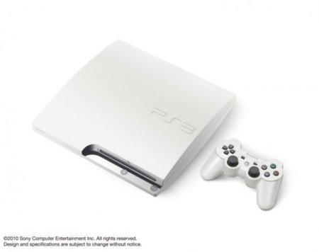 La PlayStation 3 Slim albina, presentada en Japón