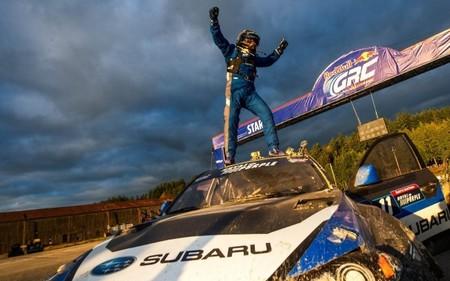 Sverre Isachsen le dio a Subaru su primera victoria en el GRC