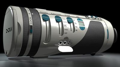 D-CAN: Desarrollando el concepto de la cámara cilíndrica