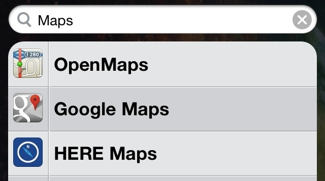 mapas iphone apple ios