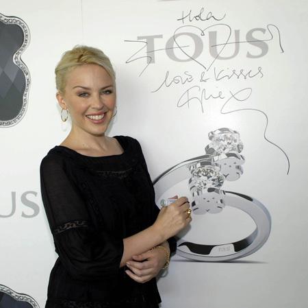 Kylie Minogue será la nueva imagen de Tous