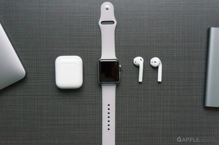 Con este sencillo truco podrás ver la batería de tus AirPods desde Apple Watch