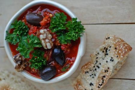 Qué comer en Turquía: acili ezme