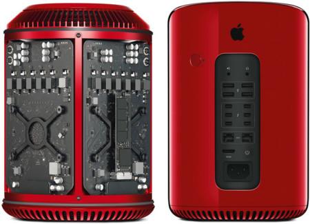 Mac Pro rojo