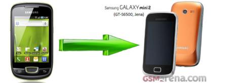 Así es el Samsung Galaxy Mini 2 que será presentado en el MWC