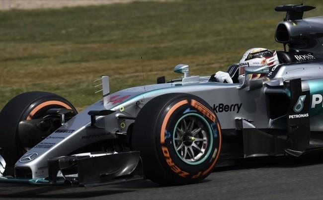 Lewis Hamilton Gp Reino Unido F1 2015