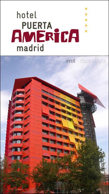 Hotel Puerta América, el hotel del diseño por excelencia