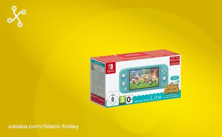 La oferta de Amazon perfecta para regalar en Navidad: Nintendo Switch Lite, Animal Crossing y 3 meses de Switch Online a 199 euros