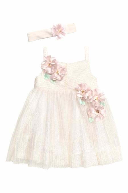 Vestido Flores Bebe Hym